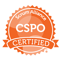 Certified Scrum Product Owner (CSPO) Certification Logo