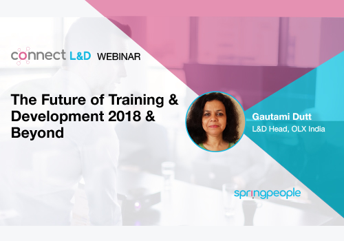 The Future of Training & Development Trends, Developments, Challenges for 2018 and Beyond Part-2 Logo