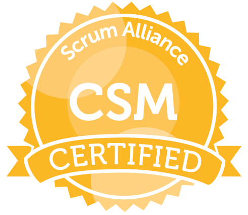 Certified ScrumMaster Training Logo